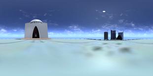 A 360 VR Image