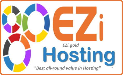 EZi.Gold Hosting knows About Plugins: This image shows the EZi.Gold logo.