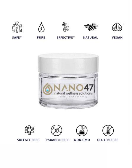 nano47 colloidal cream salve